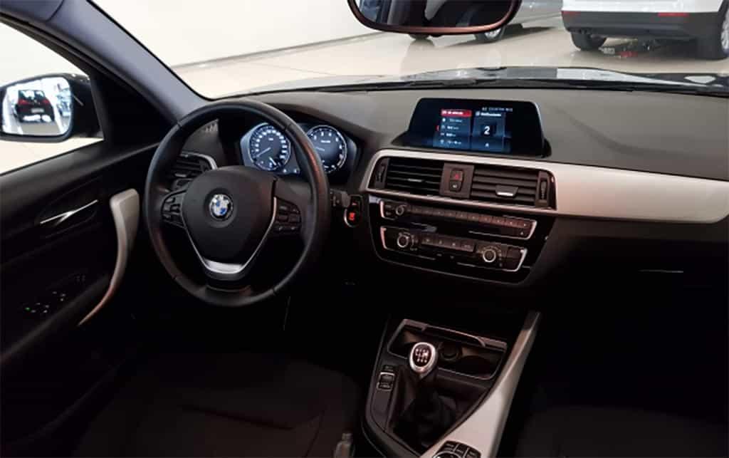 Interior BMW Serie 1 2017