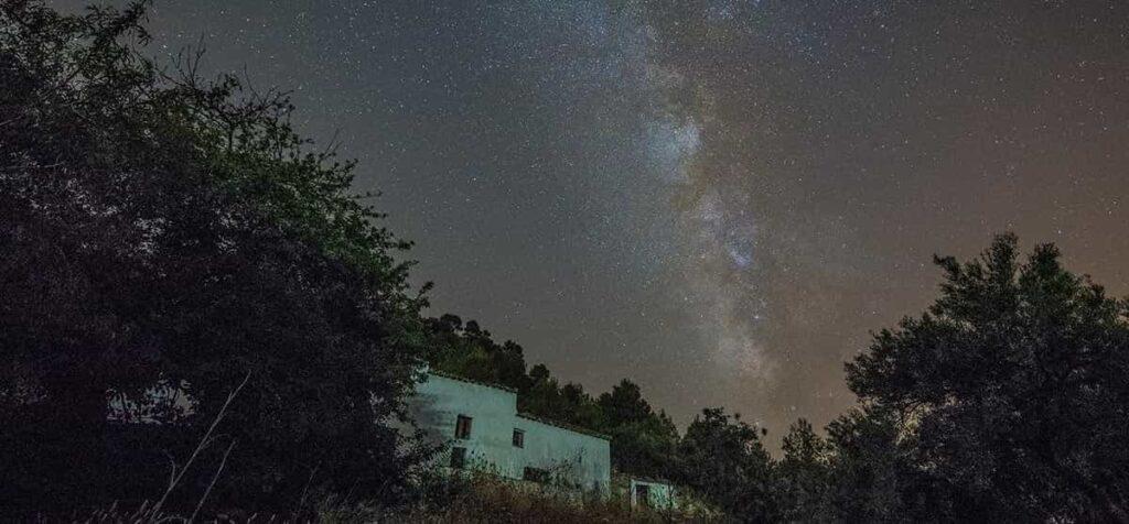 Montes de Malaga noche