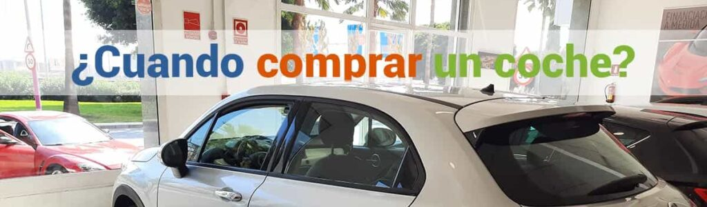 Cuando comprar un coche