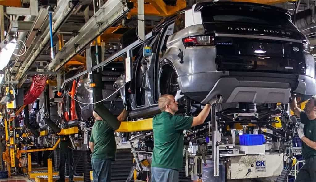 fabrica Land Rover