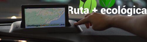 Ruta más ecológica en coche